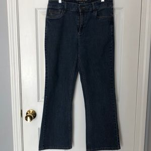 Christopher & Banks 8s modern fit bootcut jeans.
